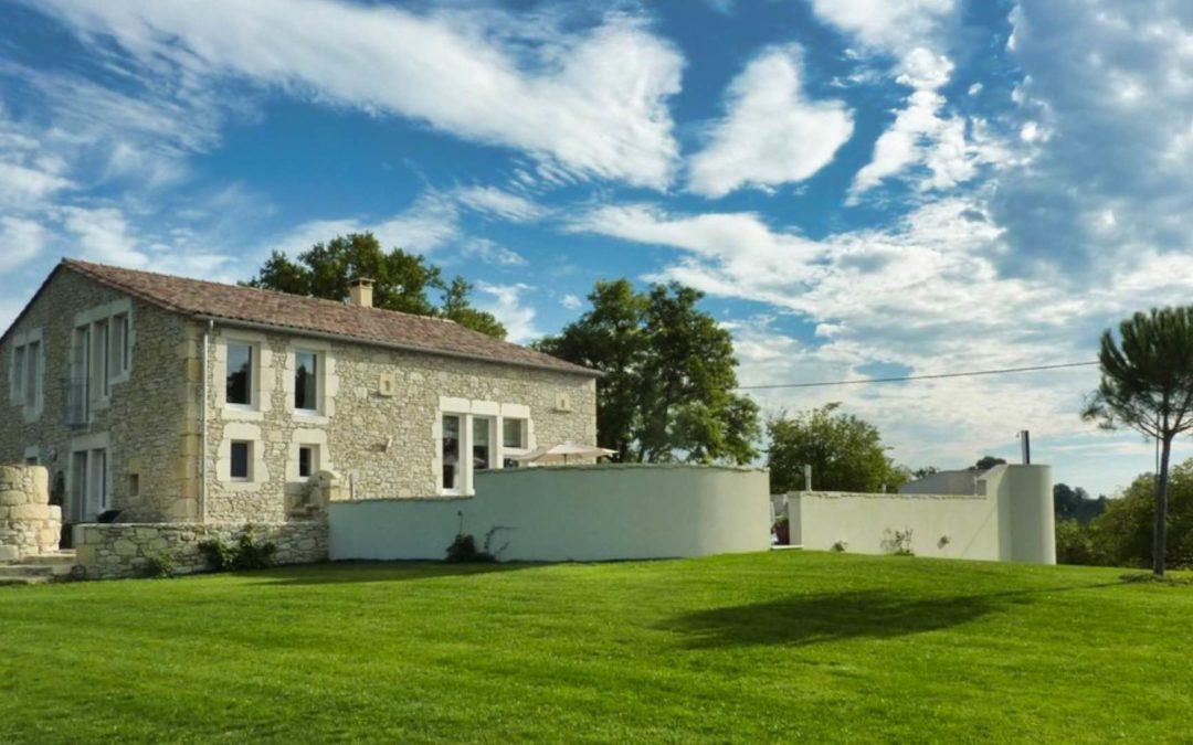 Rénovation d'une vieille grange en Dordogne