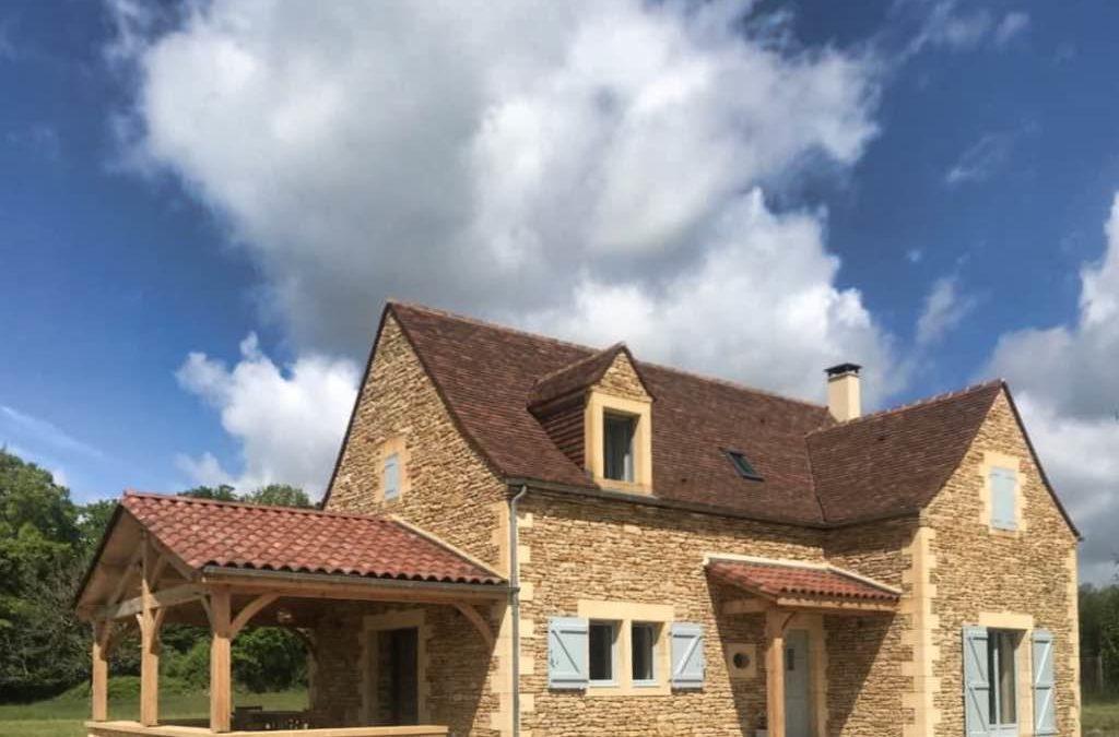 Maison Neuve en Dordogne avec visa des Bâtiments de France